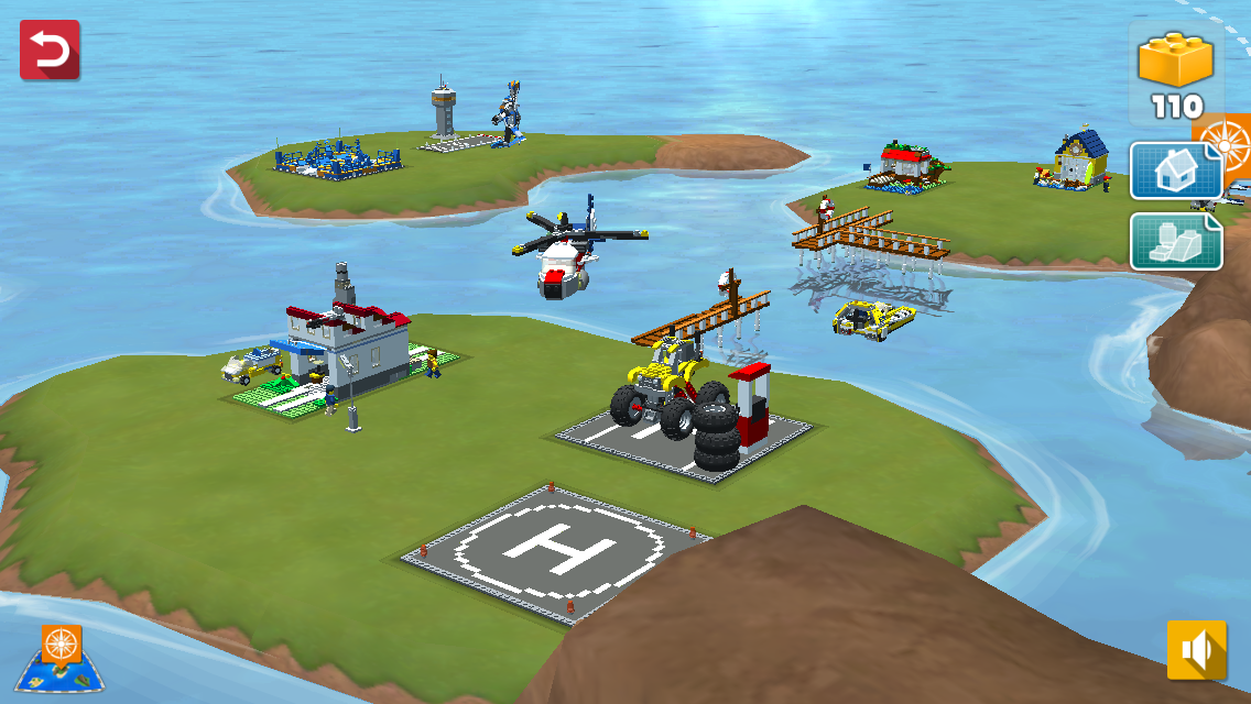 Download a game LEGO® Creator Islands android