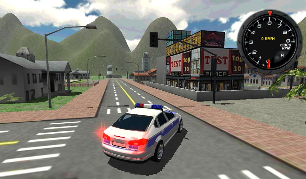 Download A Game Police Car Driver 3d Android