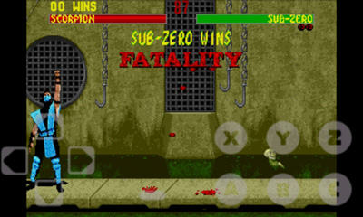 Download a game Mortal Kombat 2 android