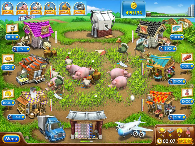 Download a game Farm Frenzy 2 android