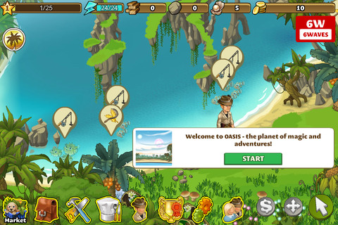 Download a game Oasis The Last Hope android