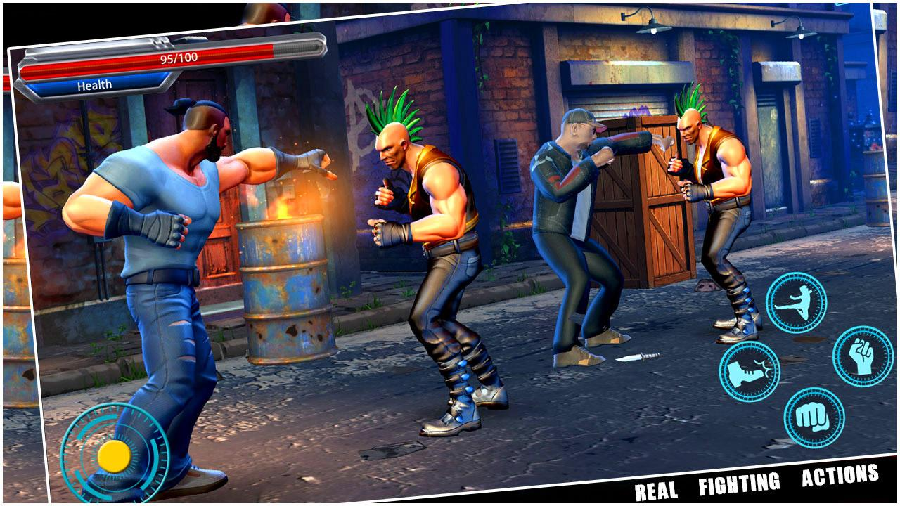 Download a game Brutal Fighter Street android