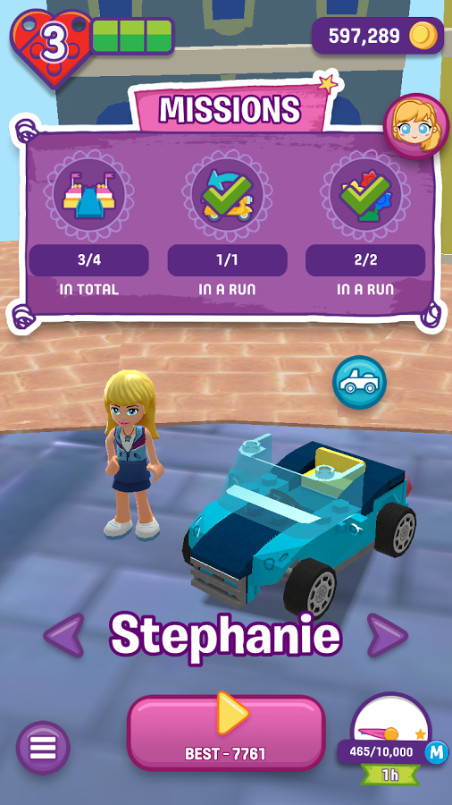 Download A Game Lego Friends Heartlake Rush Android