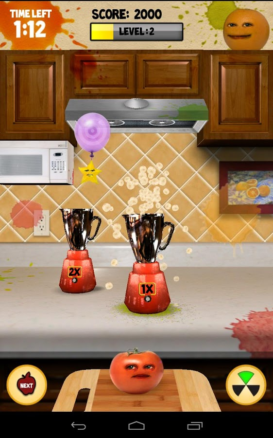 download a game annoying orange. kitchen carnage android