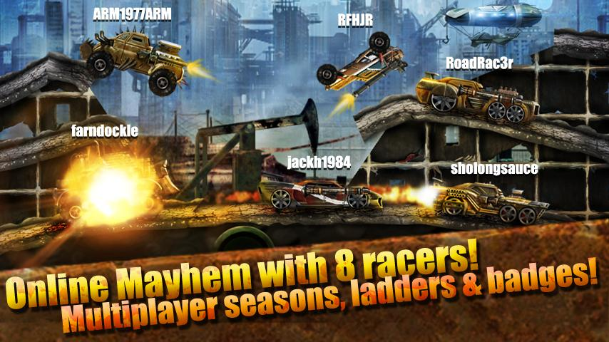 Top 10 free online multiplayer racing games