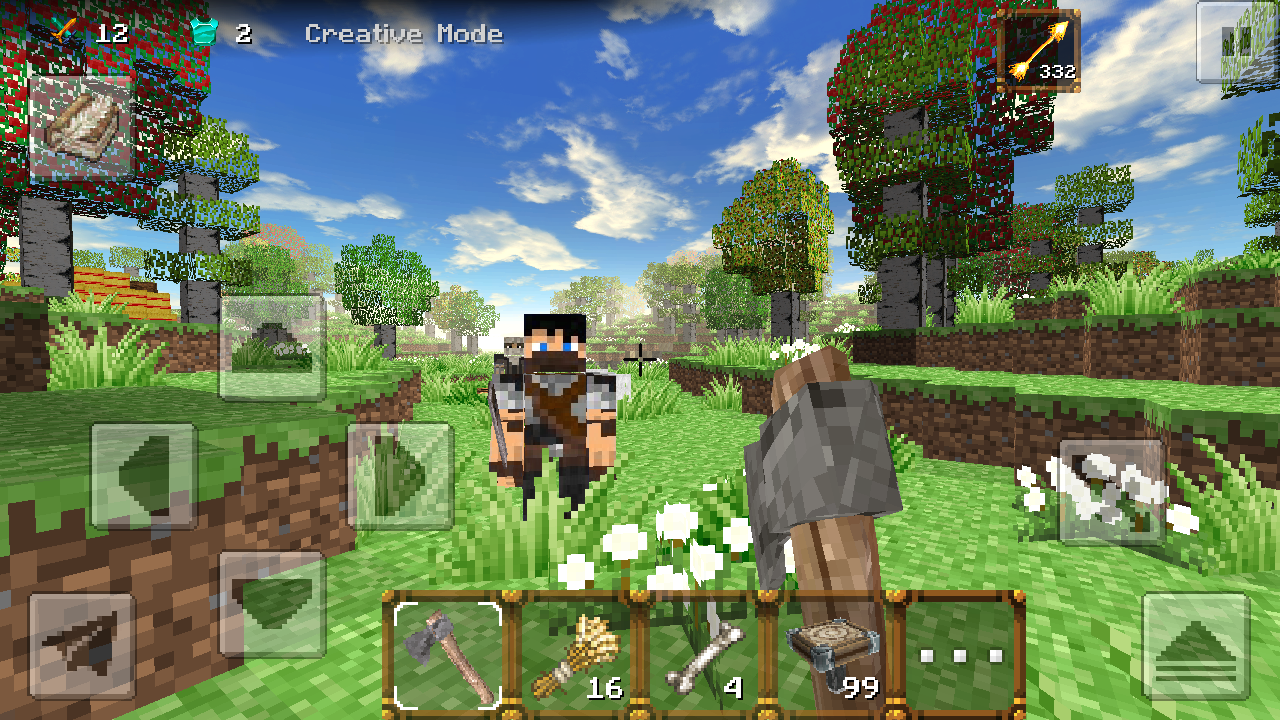 Download a game MiniCraft 2 android