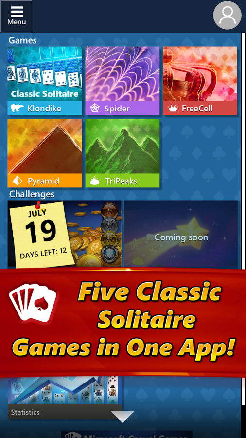 Download a game Microsoft Solitaire Collection android