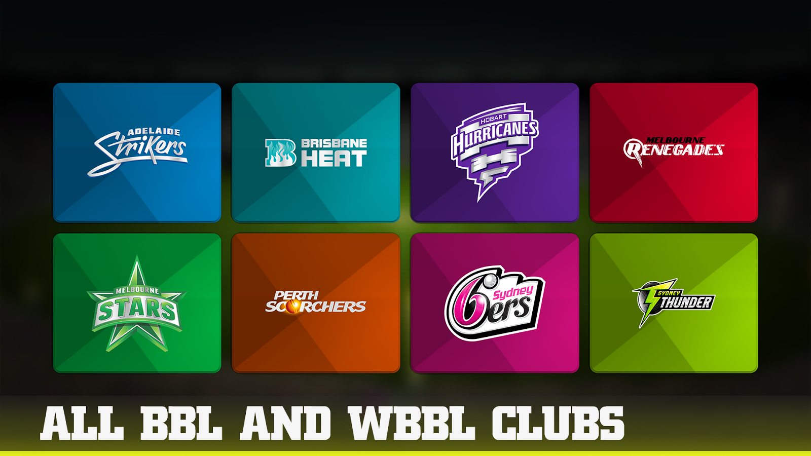 Download a game Big Bash 2016 android