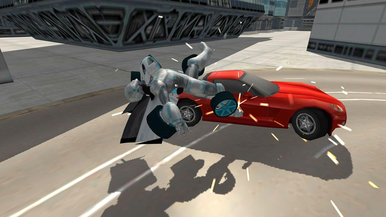 Download A Game Flying Car Robot Simulator Android