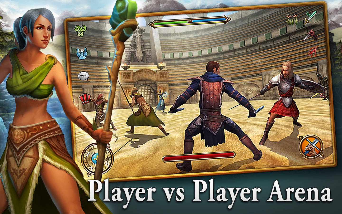 download a game 3d mmo celtic heroes android