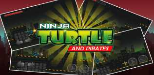 Ninja and Turtle Shadow Pirate