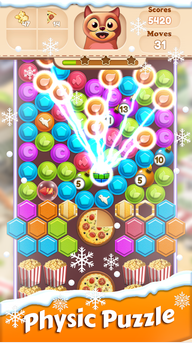 Toon Collapse Blast: Physics Puzzles