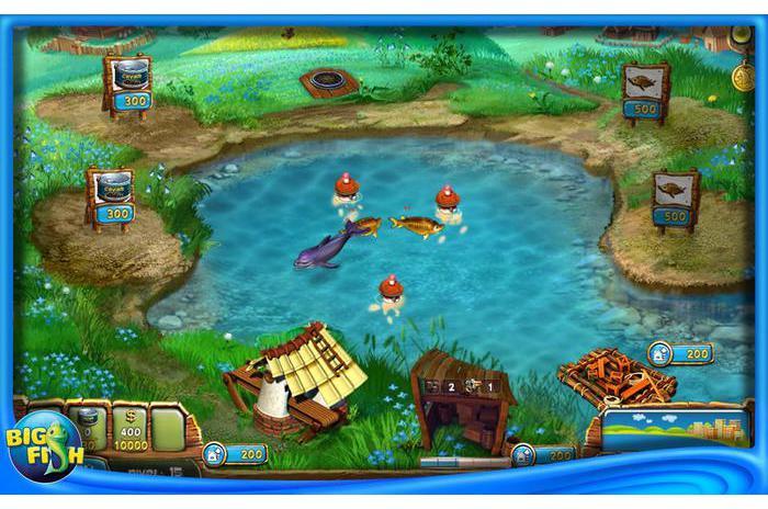 9 Мб. Описание: Fisher's Family Farm - очень динамичная игра с захват