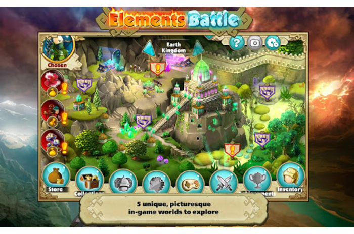 Elements Battle - RPG в стиле Puzzle Quest.