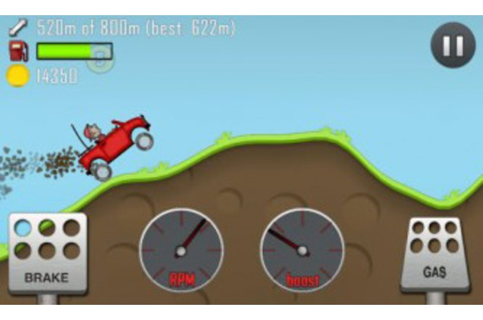 hill climb racing exciting race on a hilly area with a fun physics for
