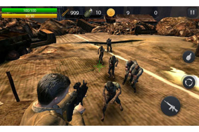 zombie shooting online games