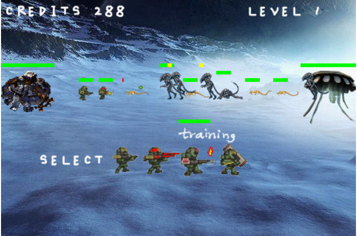 aliens vs humans online games