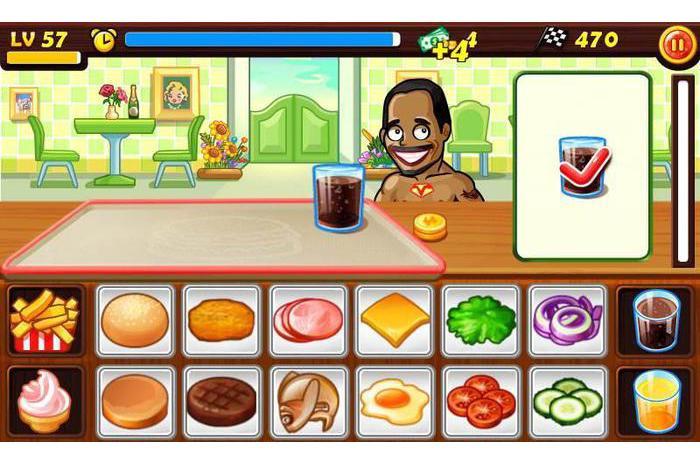 игры готовим еду на андроид скачать